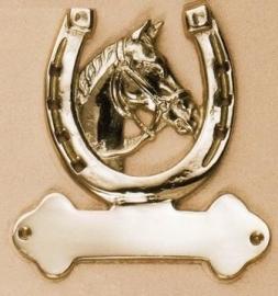 Messing Paard/hoefijzer