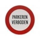 Aluminium artnr.GA007/GA008 Parkeren verboden