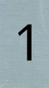 Aluminiumlook nummerbordje 1