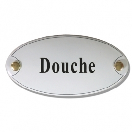 Emaille standaard Douche