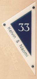 Gravoglas naamplaat art nr. 4101