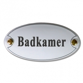 Emaille standaard Badkamer
