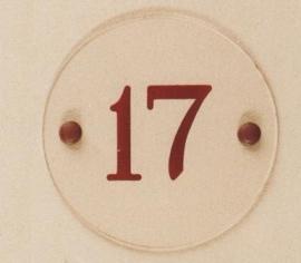 Gravoglas naamplaat art nr. 4707