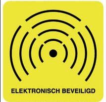 Elektronisch beveiligd