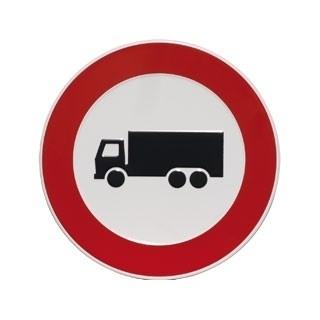 Aluminium artnr.GA019/GA020 Verbod vrachtwagens