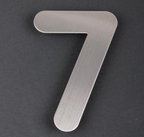 RVS Huisnummer 7