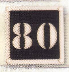 Naambord art. nr. 6001