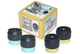 Vibratiekit 2, Geel voor units van 50 t/m 80 KG