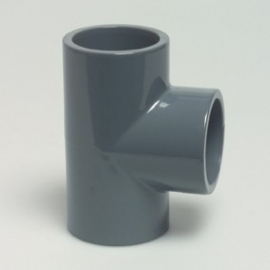 PVC Tstuk90 3 X lijm 50mm doorsnede