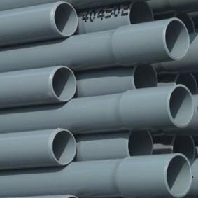 PVC Drukbuis 50mm doorsnee lengte 5 meter met tromp