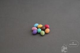 Gekleurde paaseieren