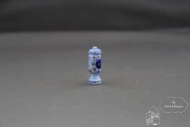 Blauwe pot