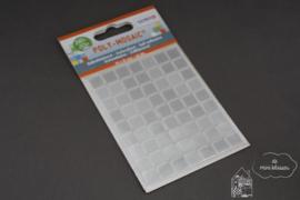 Zelfklevende mozaiek wit