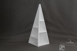 Witte uitstalkast