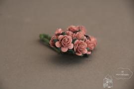 Antiek roze roosjes