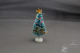 Versierde kerstboompje