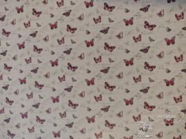 Behang  vlinders
