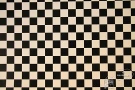 Tegelvloer zwart/wit