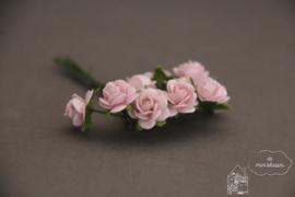 Zacht roze roosjes