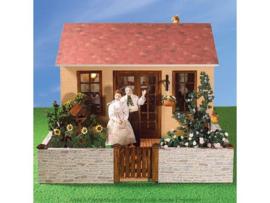 Tuinhuis met tuin