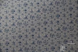 Behang dutch tiles