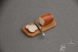 Brood op plank