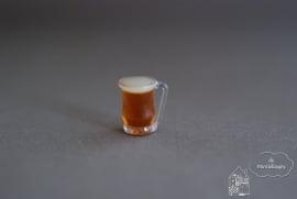 Glas donker bier
