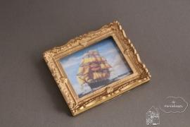 Schilderij schip