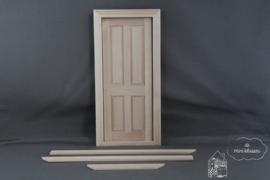 Binnendeur 4 panelen