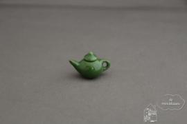 Theepot groen