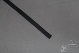 Zwart satijnlint 6mm
