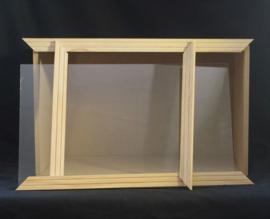 Roombox met acryl raam
