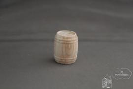 Blank houten ton