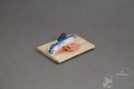 Snijplank met vis