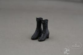 Zwarte dames laarzen