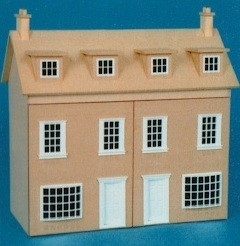 Georgian double fronted shop 1:12 (A05)