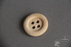 Houten knoop