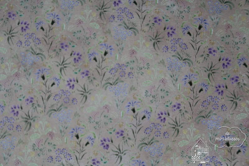 Behang flowers