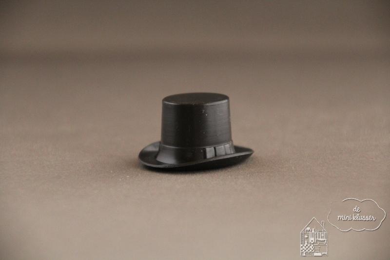 Zwarte hoge hoed