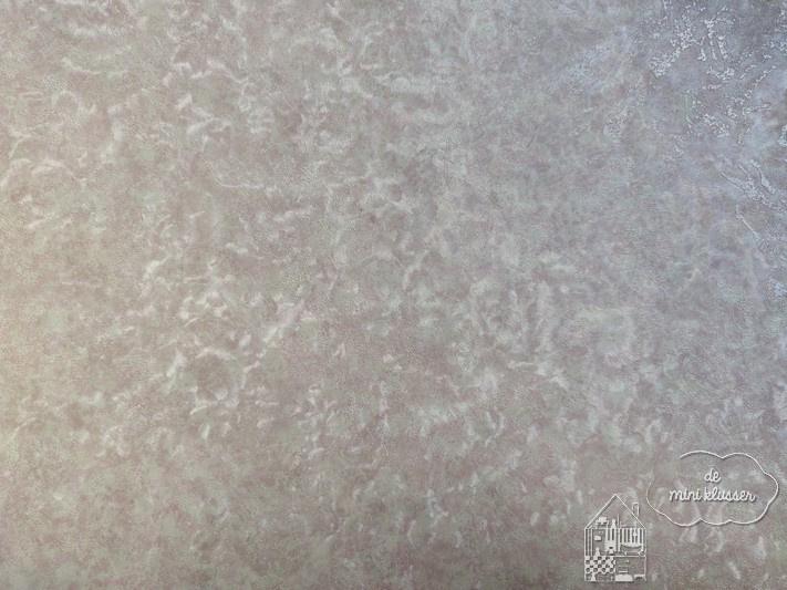 Behang parelmoer wit/roze