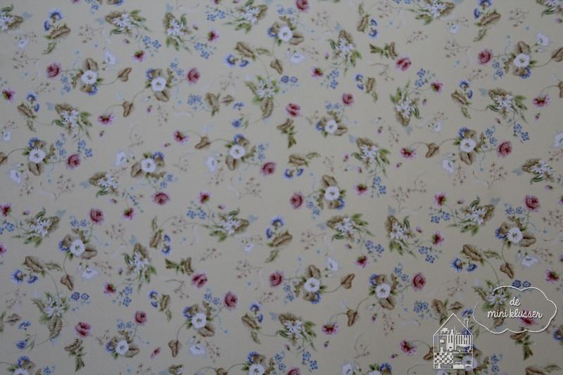 Behang rococo silk