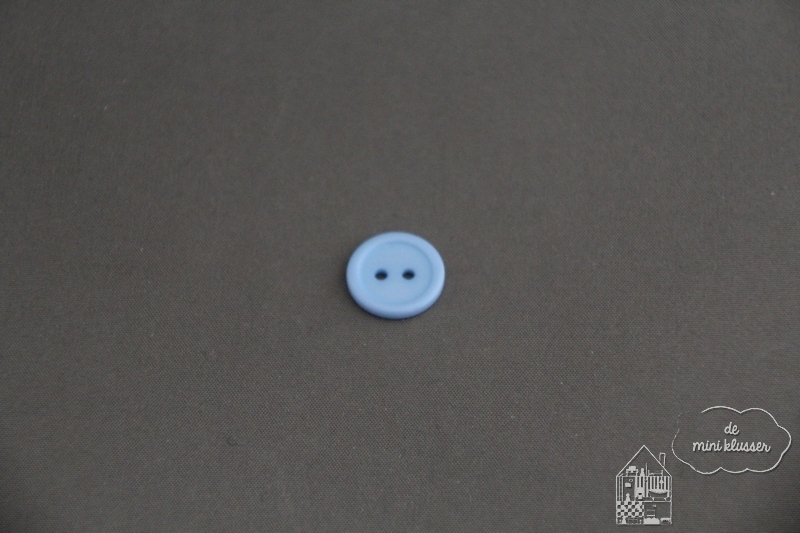Knoop baby blauw