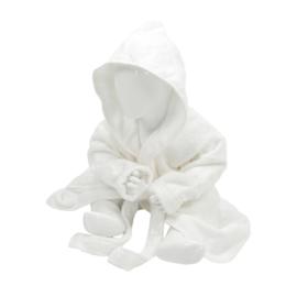 Babybadjas met capuchon Wit