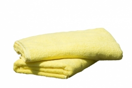 Badhanddoeken Geel 350 gram