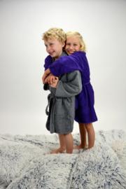 Kinderbadjassen Sjaalkraag