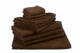 Handdoekenset Bruin 350 gram