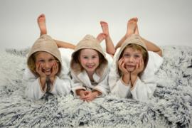 Kinderbadjassen Capuchon