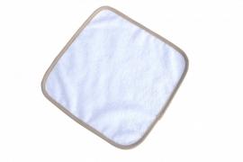 Spuugdoekje Wit / Lichtbruin 035.50 White / Sand