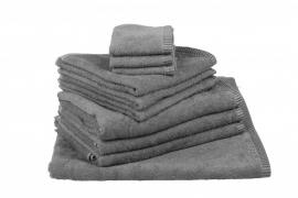 Handdoekenset Antracietgrijs 350 gram