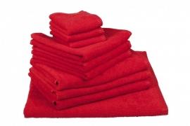 Handdoekenset Rood 350 gram